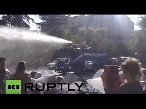 Italy: Protest turns violent at Rome's Sapienza University