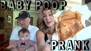 Baby Poop Prank!