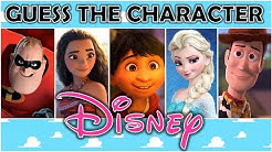 """Guess the Character """"DISNEY"""" (PART 2) 