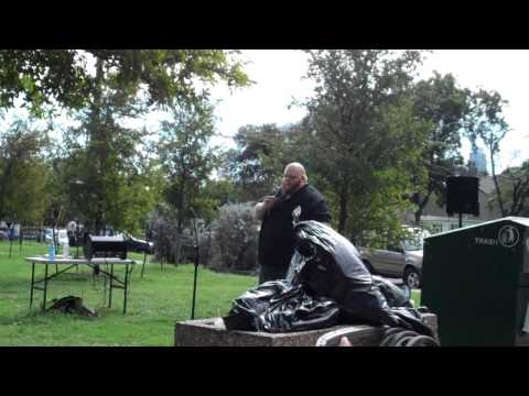 Big Bald Mike - Farm Sanctuary Speech 10/27/12