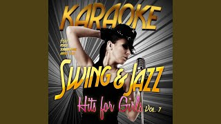 I Was Doing All Right (In the Style of Carmen Mcrae) (Karaoke Version)