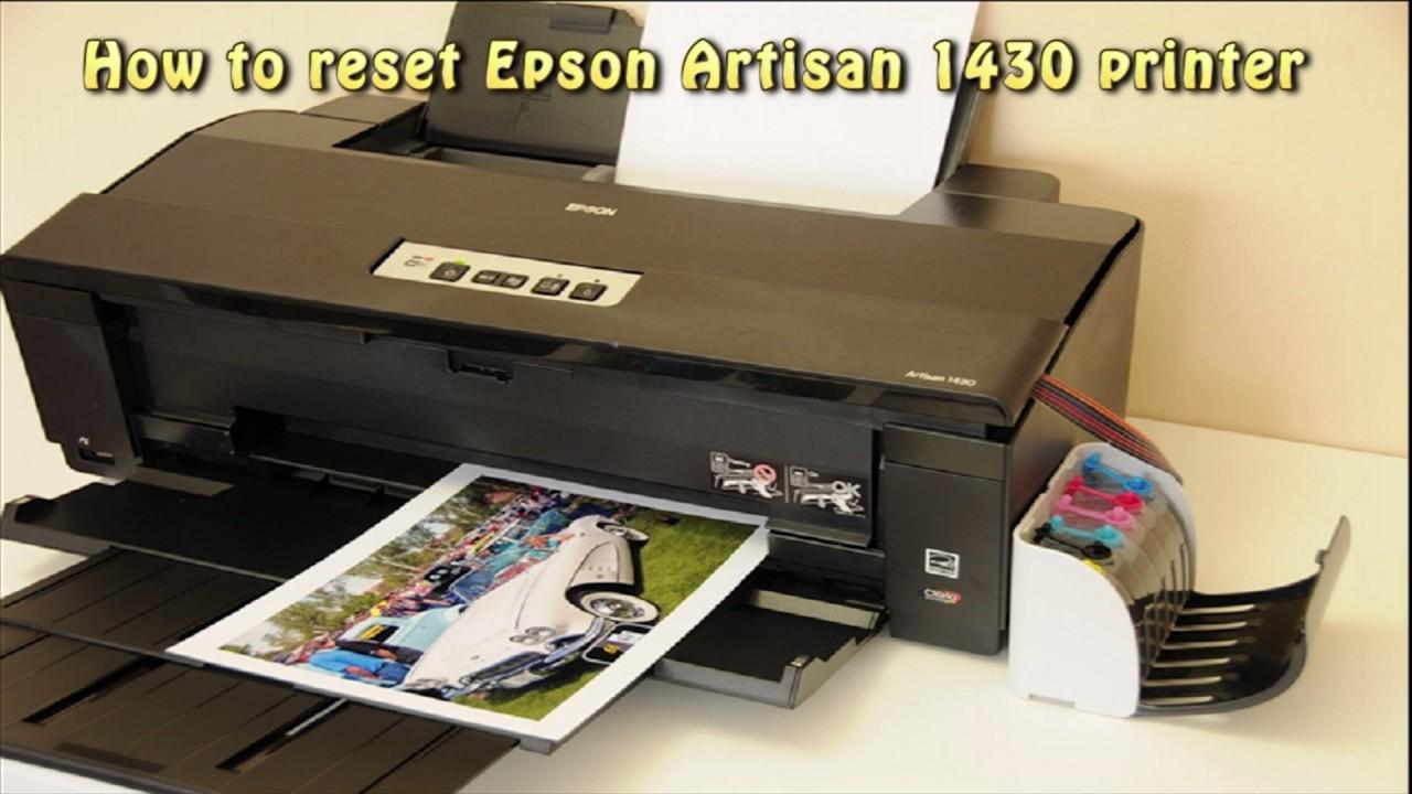 Epson Artisan 1430 Printer Driver for Windows 10