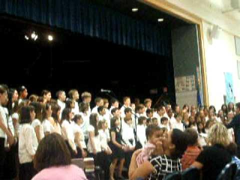 summer concert- Thompson Brook school chorus