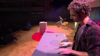 Transforming everyday objects into musical Instruments: Bruno Zamborlin at TEDxBrussels