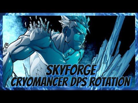 Skyforge: Cryomancer Dps Rotation