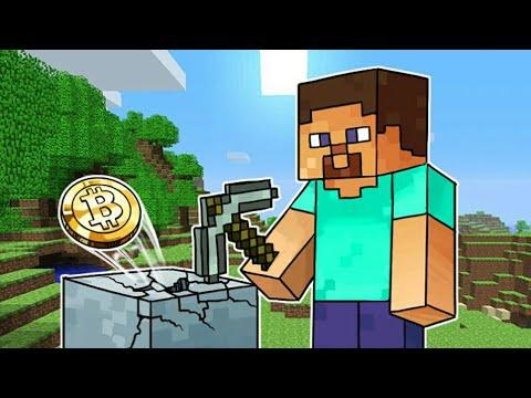 Как заработать Биткойн в Minecraft
