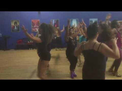 Brazilian Samba Dance class Rio Style with Shaunté Trilliant Studios West Oakland