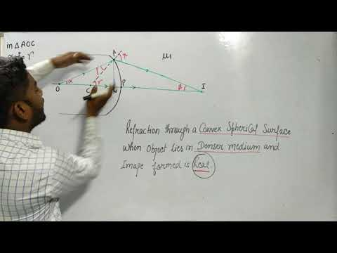 Complete Optics ( 12th Class Physics ) (Refraction) Lecture part - 8 ( CBSE Board )