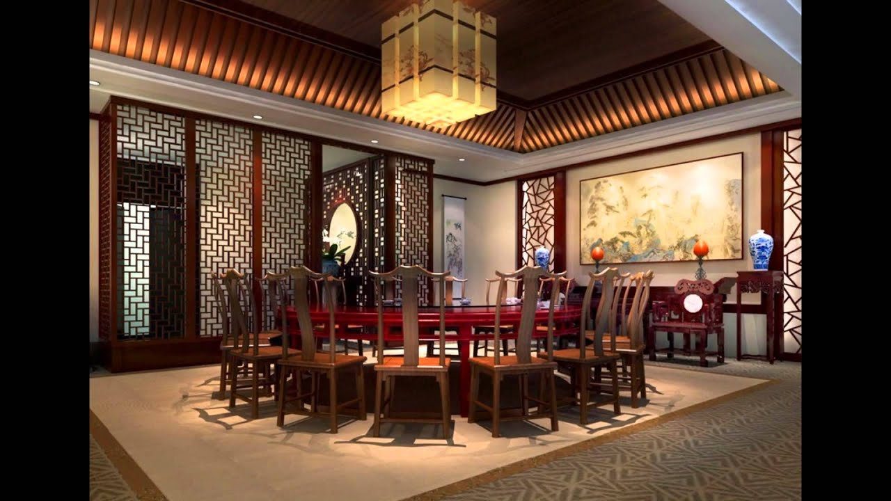 Modern Italian Asian Chinese Restaurant Interior Design Furniture Concept  Awards   YouTube