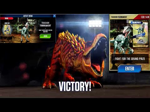 Jurassic World - Troodon Tournament (Last Game of Today) 20160104