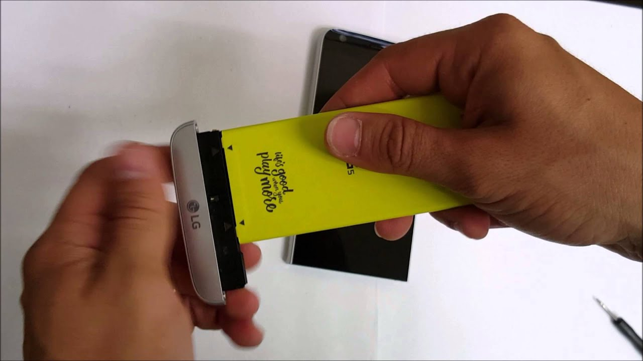 How to Replace the Battery on a LG G5