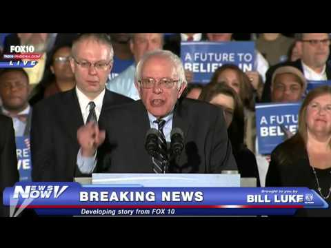 FNN: FULL Bernie Sanders Reacts to New Hampshire Primary Results