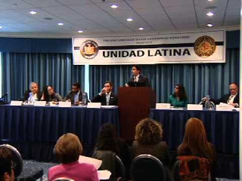 Unidad Latina Legislative Conference 10/22/11 -- Increasing Latino College Success