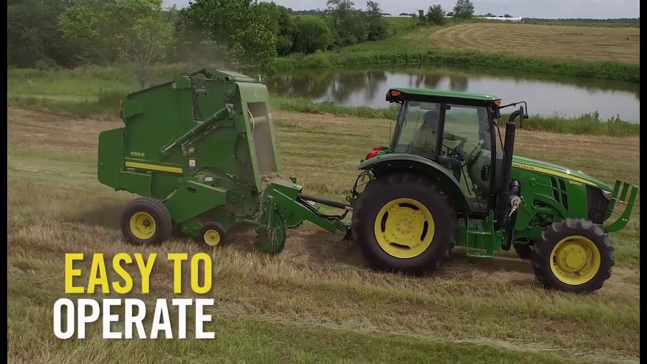 Introducing the New 459E Round Baler