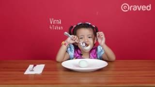 Reaksi Anak Tentang Makanan Orang Dewasa