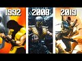 The Evolution of Scorpion's Mortal Kombat Arcade Endings! 1992-2019