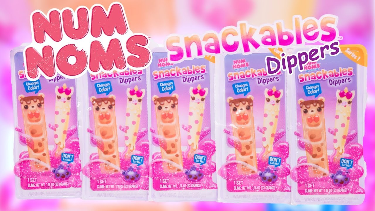 Num Noms Series 1 Snackables Dippers Mallow Twirl