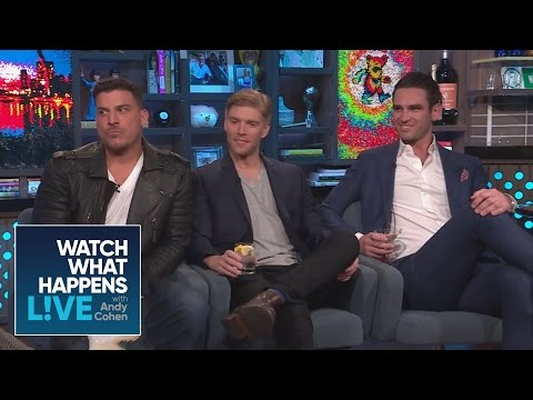 Jax Taylor, Kyle Cooke And Carl Radke Play Never Have I Ever, Bro Edition  WWHL