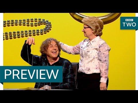 Sandi teaches Alan a new party trick - QI: Series N Episode 15 Preview - BBC Two