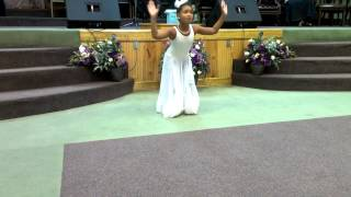 Isabella dancing take me to the king Tamela Mann