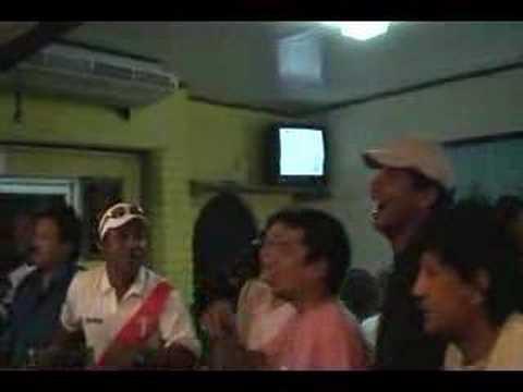 """Gol de Vargas Peru Brasil en """"El Chalan"""" Aruba"""