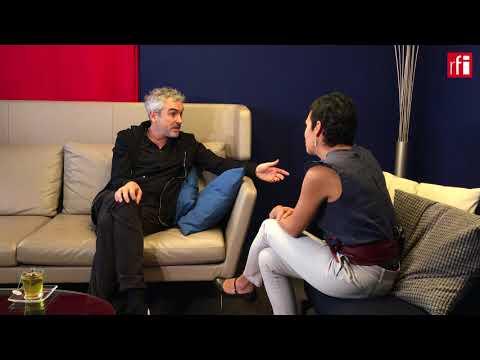 Alfonso Cuarón con Radio Francia Internacional
