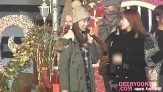 [Fancam] SNSD Yoona - Snowy Wish Rehearsal