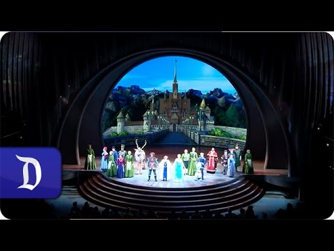 Witness the Transformation of the Hyperion Theater for 'Frozen – Live at the Hyperion'