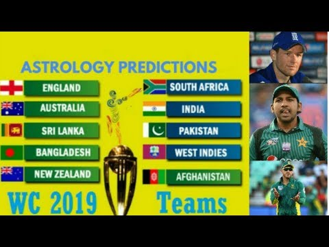 Astrology prediction for world cup 2019