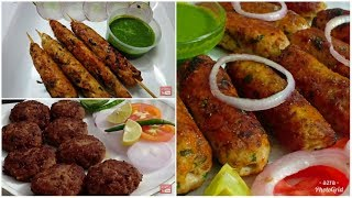 Teen Tarah Ke Tasty Aur Asaan Kabab | Ramadan And Eid Special Kabab recipes