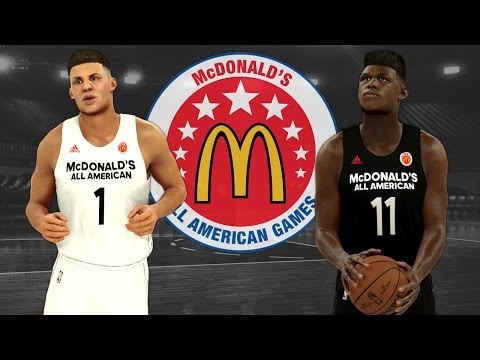 How To Set Up The 2017 High School McDonald's All American Game In NBA 2K17 (PS4)