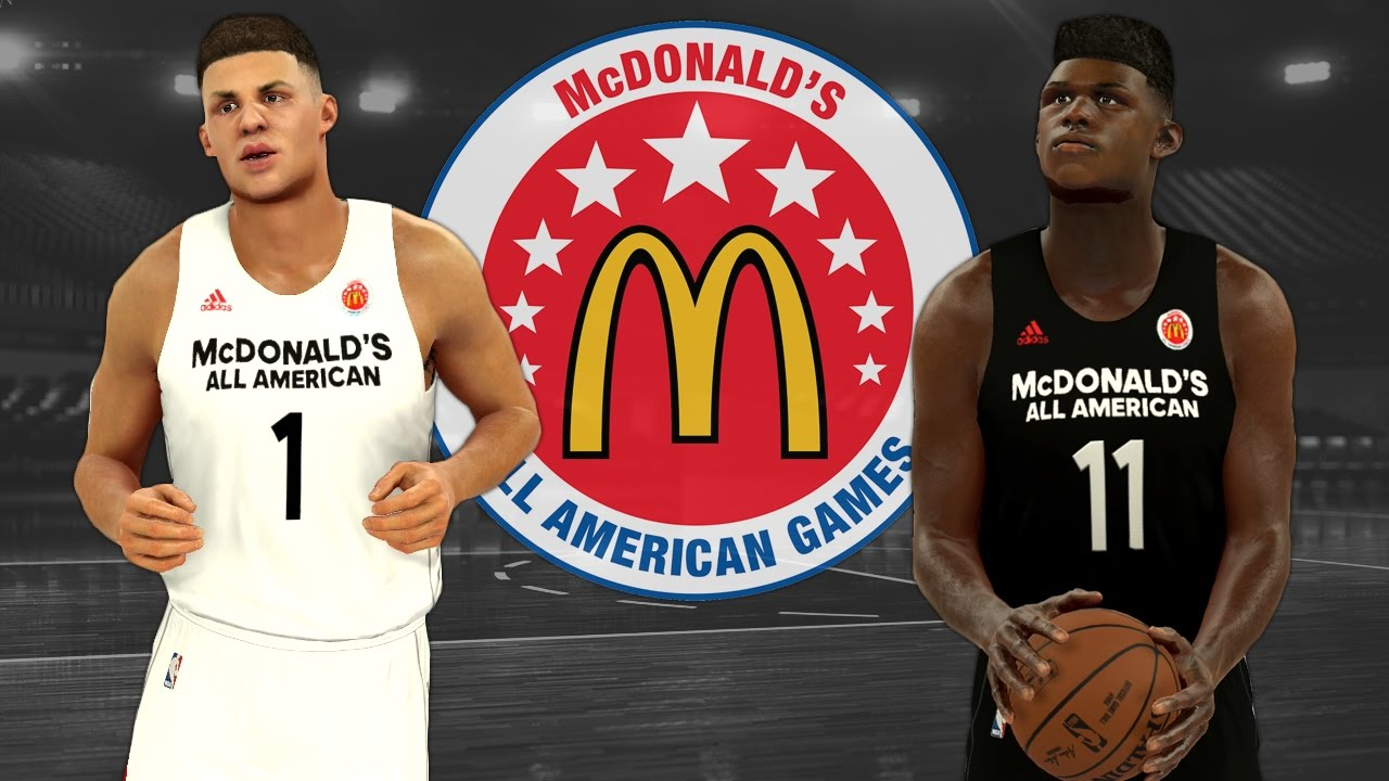 d654ba7b23d How To Set Up The 2017 High School McDonald s All American Game In NBA 2K17  (PS4)