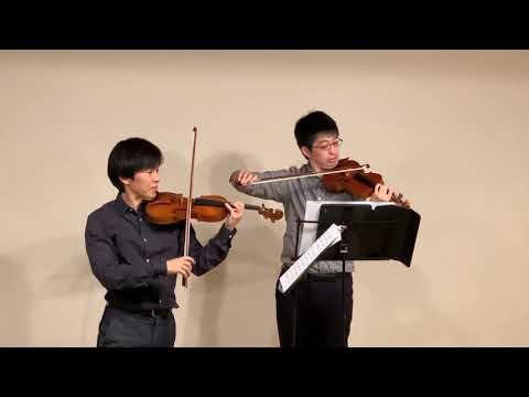 Leclair - Sonate pour 2 violons en mi mineur op.3-5