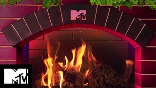 Cosy Christmas Fireplace | MTV