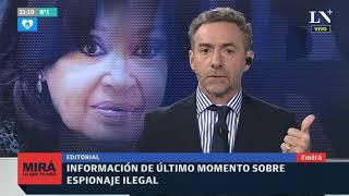 """Luis Majul: Espionaje ilegal y el """"operativo Cristina Kirchner de impunidad"""" y venganza"""