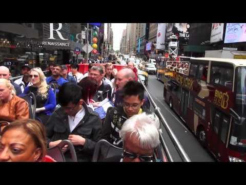New York:   Times Square &  Bus Tour 2015