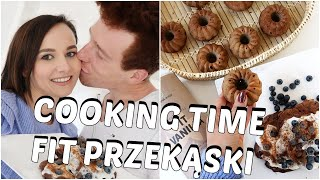 COOKING TIME/ FIT przekąski z kolarzem ♂️