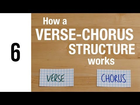 How a VerseChorus Song Structure Works  The Song Foundry