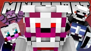 Minecraft Fnaf: Sister Location - Funtime Foxy Breaks Down (Minecraft Roleplay)