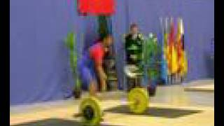 Campeonato de España de Halterofilia Junior 2008 Tanda1 arr