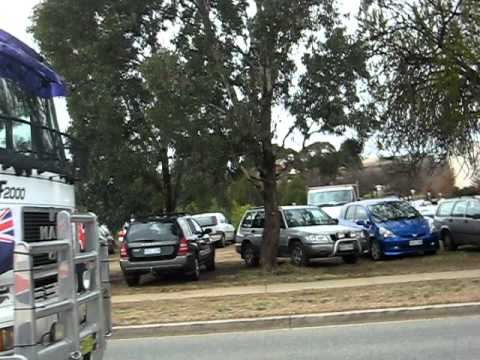 Convoy of No Confidence - Drive Around State Circle, Canberra