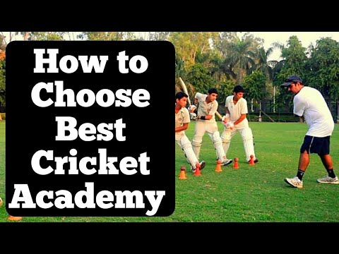 How to Choose Best Cricket Academy   India   The Sport Club