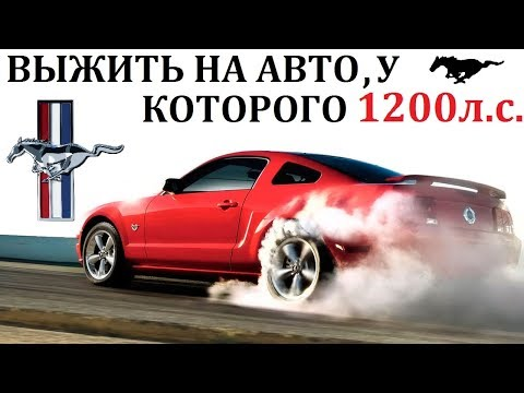 Ford Mustang/Мустанг. СУМАСШЕСТВИЕ