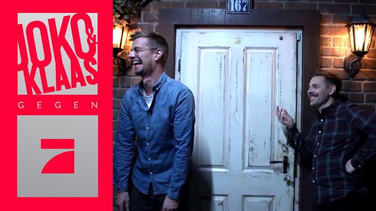 Joko Und Klaas Gefangen In Der Escape Room Dauerschleife Spiel 2 Joko Klaas Gegen Prosieben Youtube