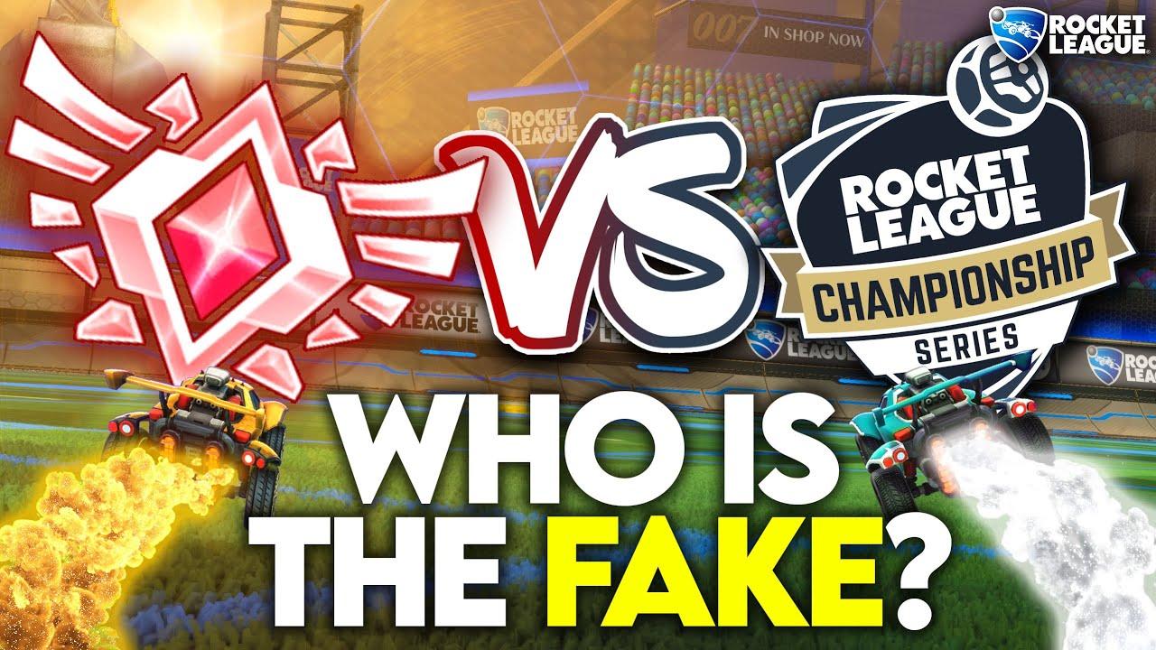 6 Grand Champs vs 1 Secret Pro (Rocket League Odd Man Out)