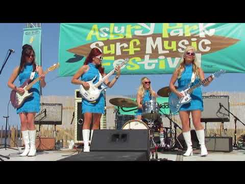 """SURF MUSIC FESTIVAL """" HAD TO MUCH TO DREAM LAST NIGHT """" SURFRAJETTES 08 - 26-2017"""