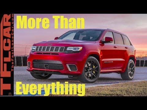 2018 Jeep Grand Cherokee 707 HP Trackhawk: Everything You Ever Wanted To Know