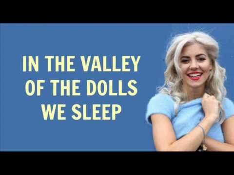 Valley of The Dolls - Marina & The Diamonds (LYRICS)