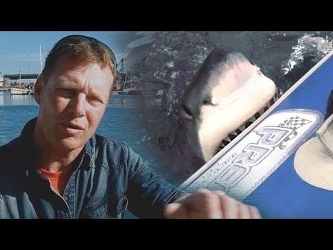 Great White Shark Attack Interview with Rainer Schimpf (Exclusive Video)