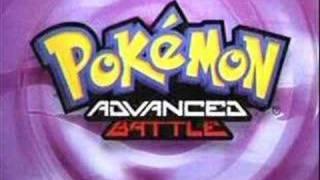 Pokemon Advanced Battle Opening
